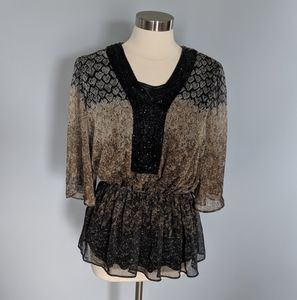 Badgley Mischka American Glamour Top